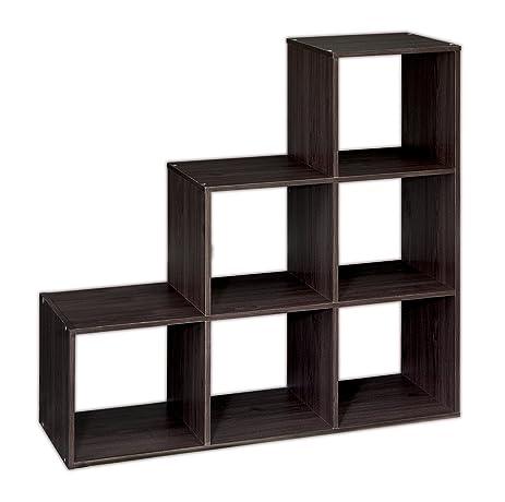 ClosetMaid (1044) Cubeicals Organizer, 3 2 1 Cube   Espresso