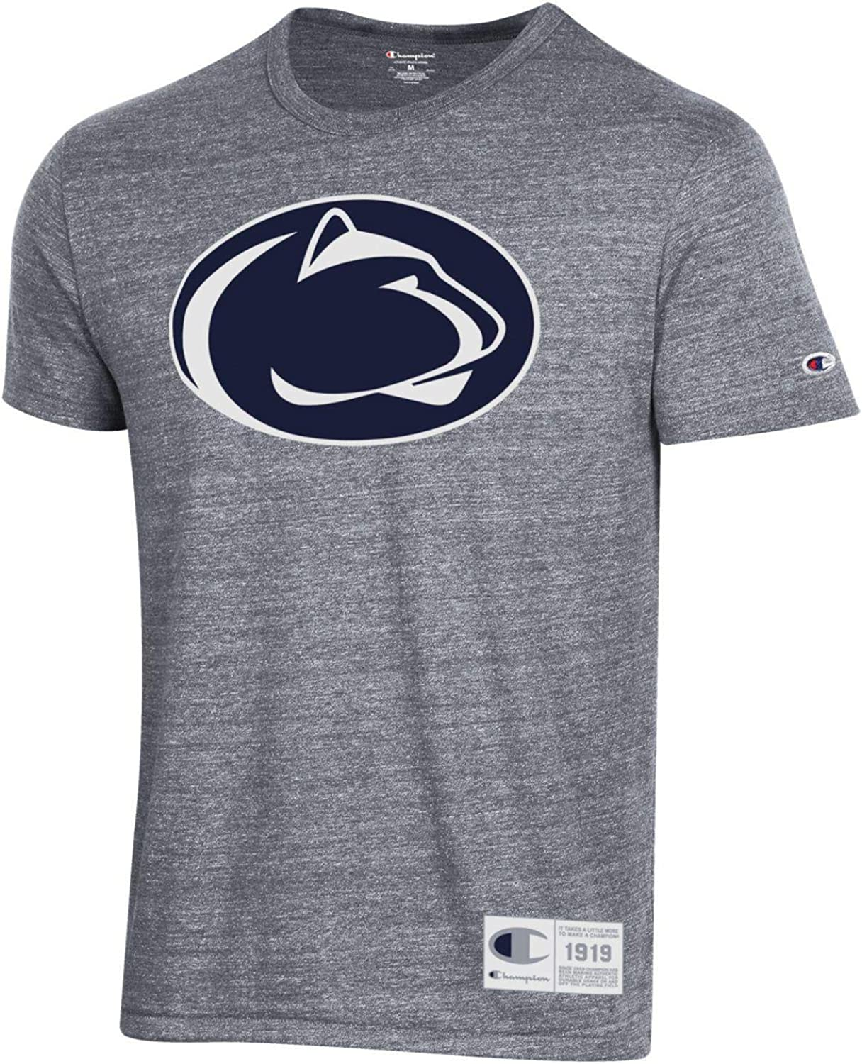 CHAMPION NCAA Mens Retro Ultimate Triblend T-Shirt with Old School Logo