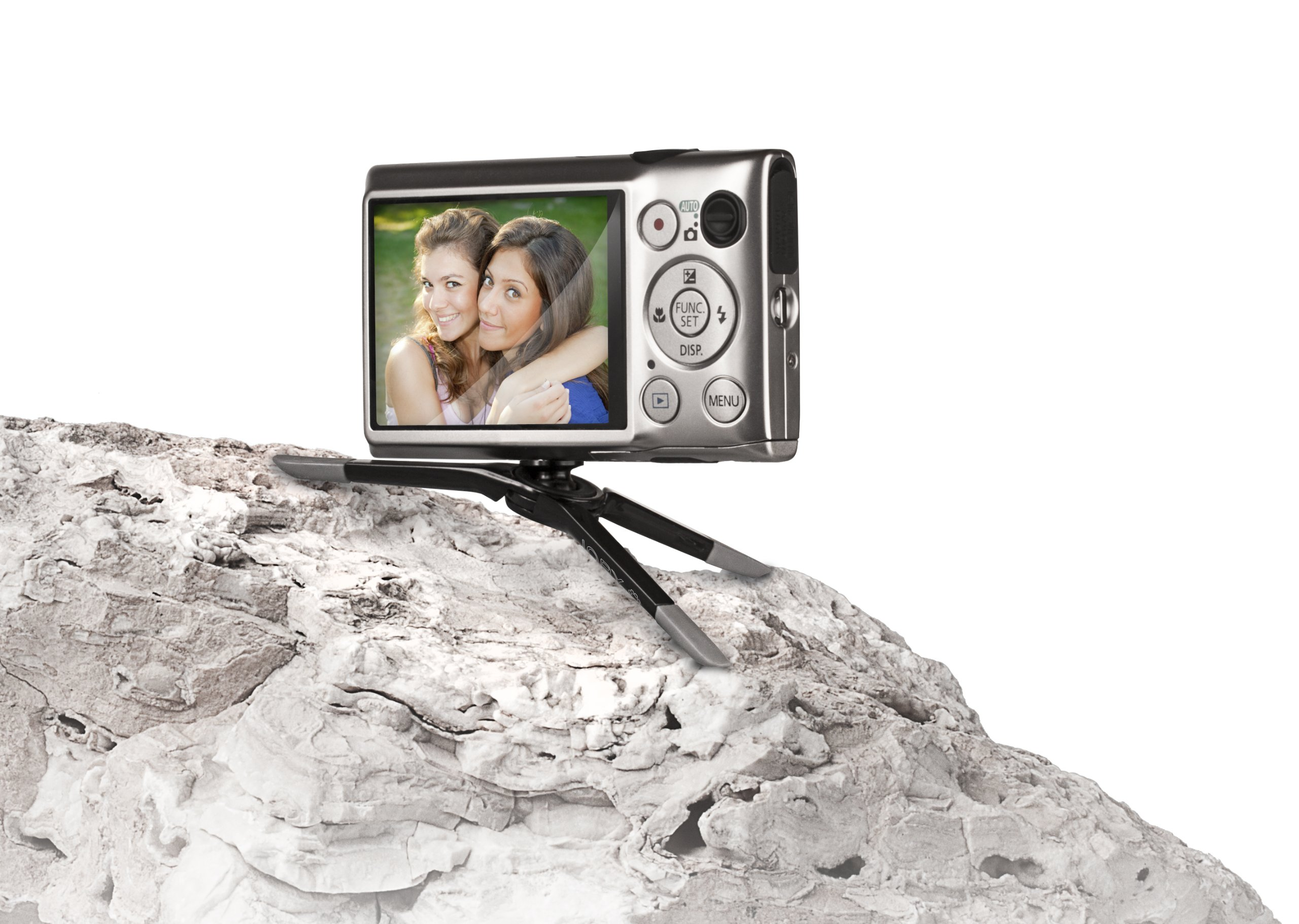 JOBY Micro Tripod for Point & Shoot Cameras - Ultra Portable Tripod That Fits In Your Pocket by Joby (Image #4)