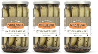 product image for Ay Cukarambas (3-pack) - Semi-spicy pickle spears 24oz jar