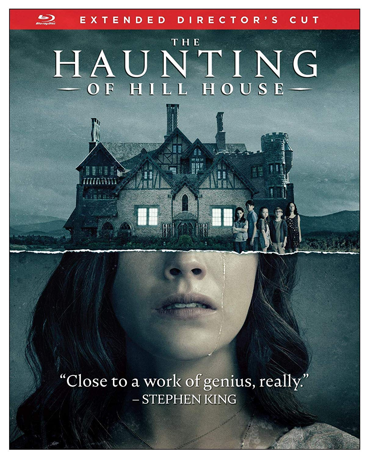 Amazon Com The Haunting Of Hill House Blu Ray Carla Gugino Elizabeth Reaser Timothy Hutton Mike Flanagan Movies Tv
