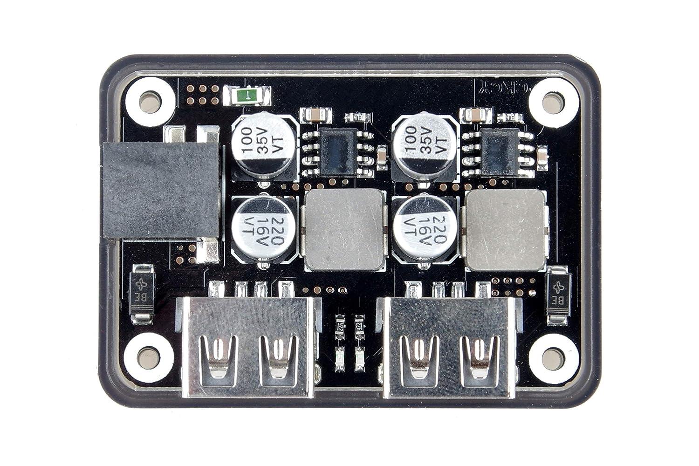 Dual 2 Double USB Fast Charger Buck Module Input 6V 30V Single Port 24W Support QC2.0 QC3.0 QC 2.0 3.0 Car Vehicle Board TOFKE