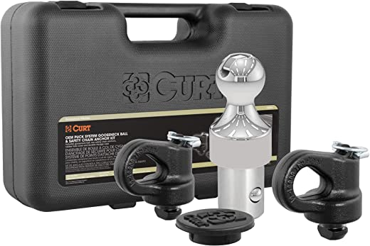 CURT 60692 OEM Puck System Gooseneck Hitch Kit, 30K, 2-5/16-Inch Ball, Select Silverado, Sierra 2500, 3500 HD, F-250, F-350, Nissan Titan XD