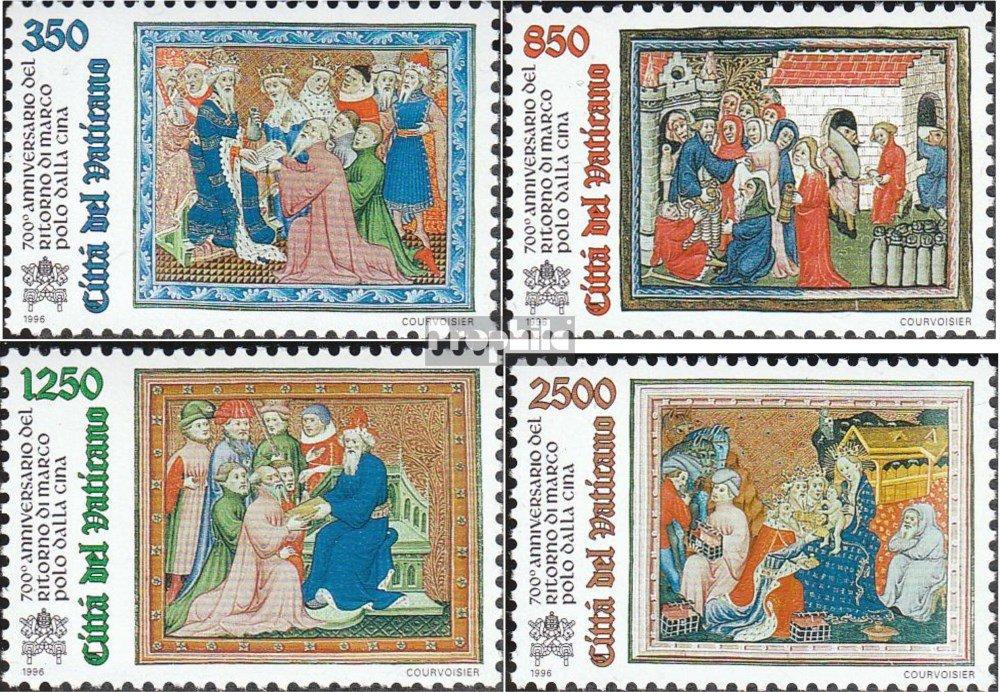 Prophila Collection Vatikanstadt 1167-1170 (Completa.edición ...