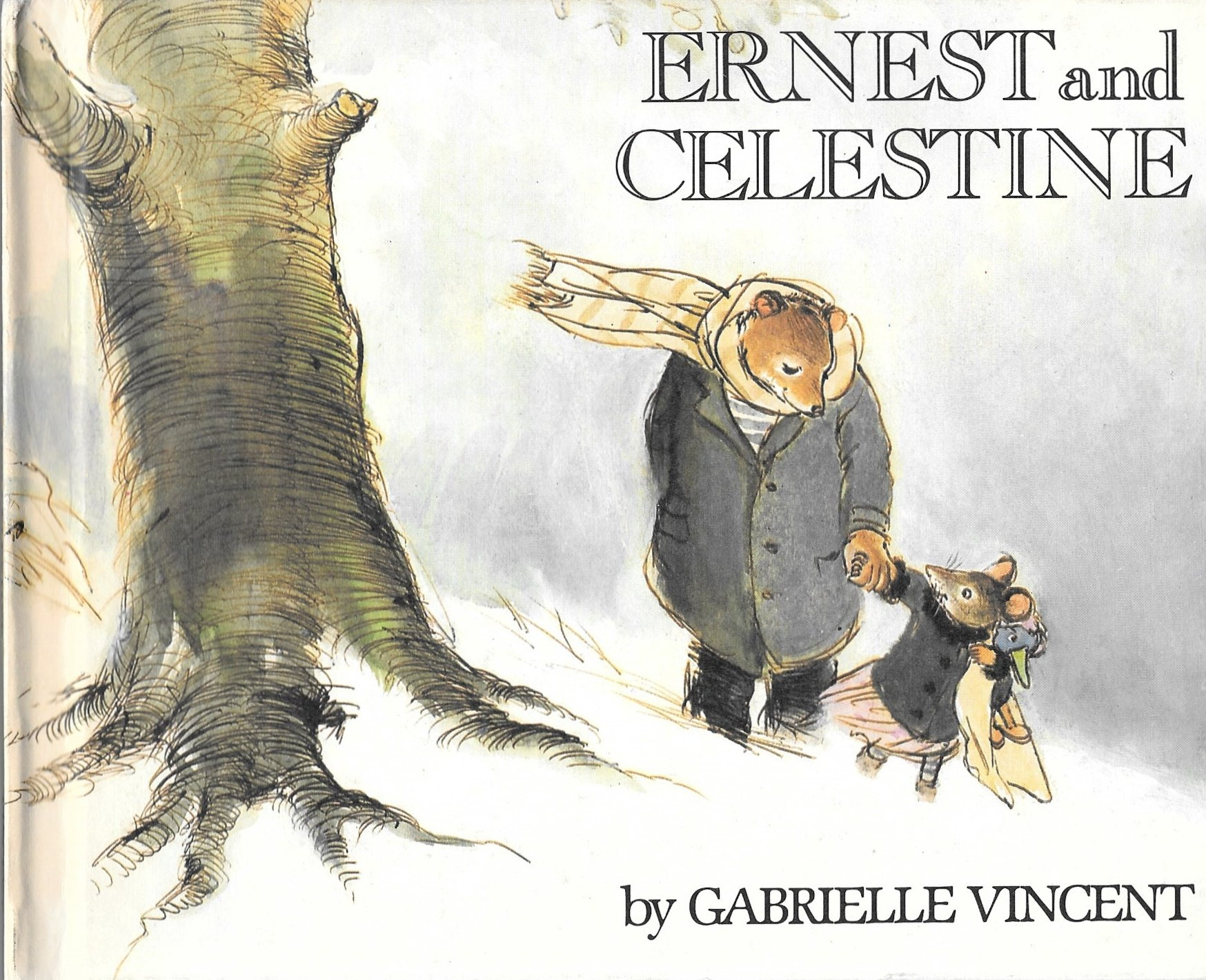 Ernest and Celestine: Gabrielle Vincent: 9780688065256: Amazon.com ...