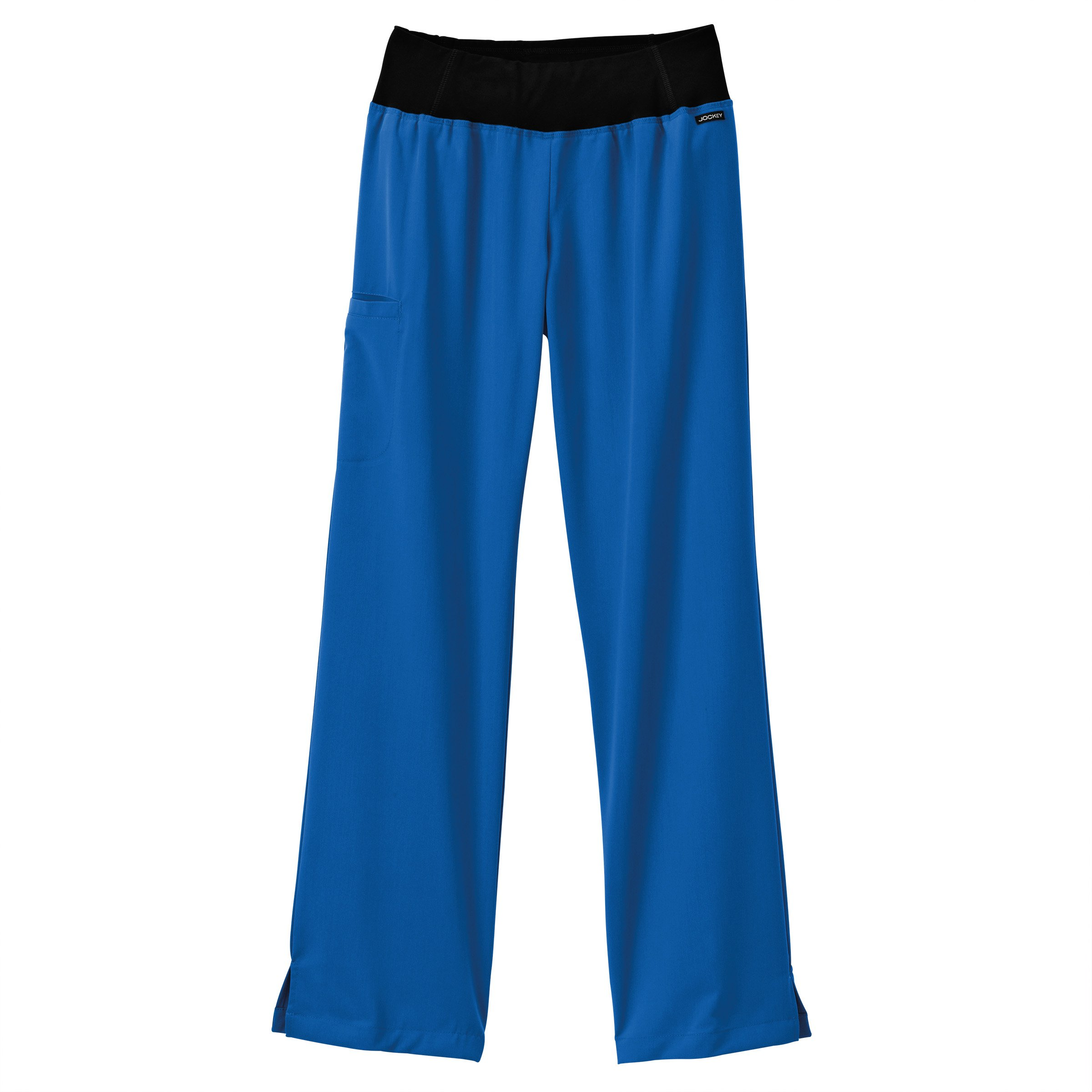Modern Fit Collection by Jockey Women's Yoga Scrub Pant X-Large Petite Royal