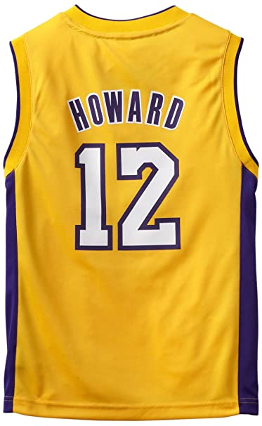 quality design 295f6 dcbd1 NBA Los Angeles Lakers Dwight Howard Youth 8-20 Replica Home Jersey