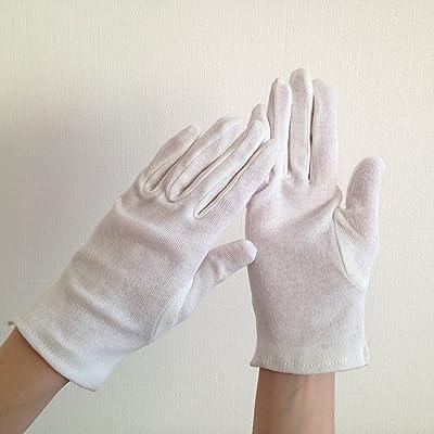 Blum - Gants de coton - taille S - 1 paire blanc - Pas d'empreintes digitales pendant le nettoyage d'écran | lunettes | objectif de la caméra | portatif | smartphone | tablette | lunettes VR ...