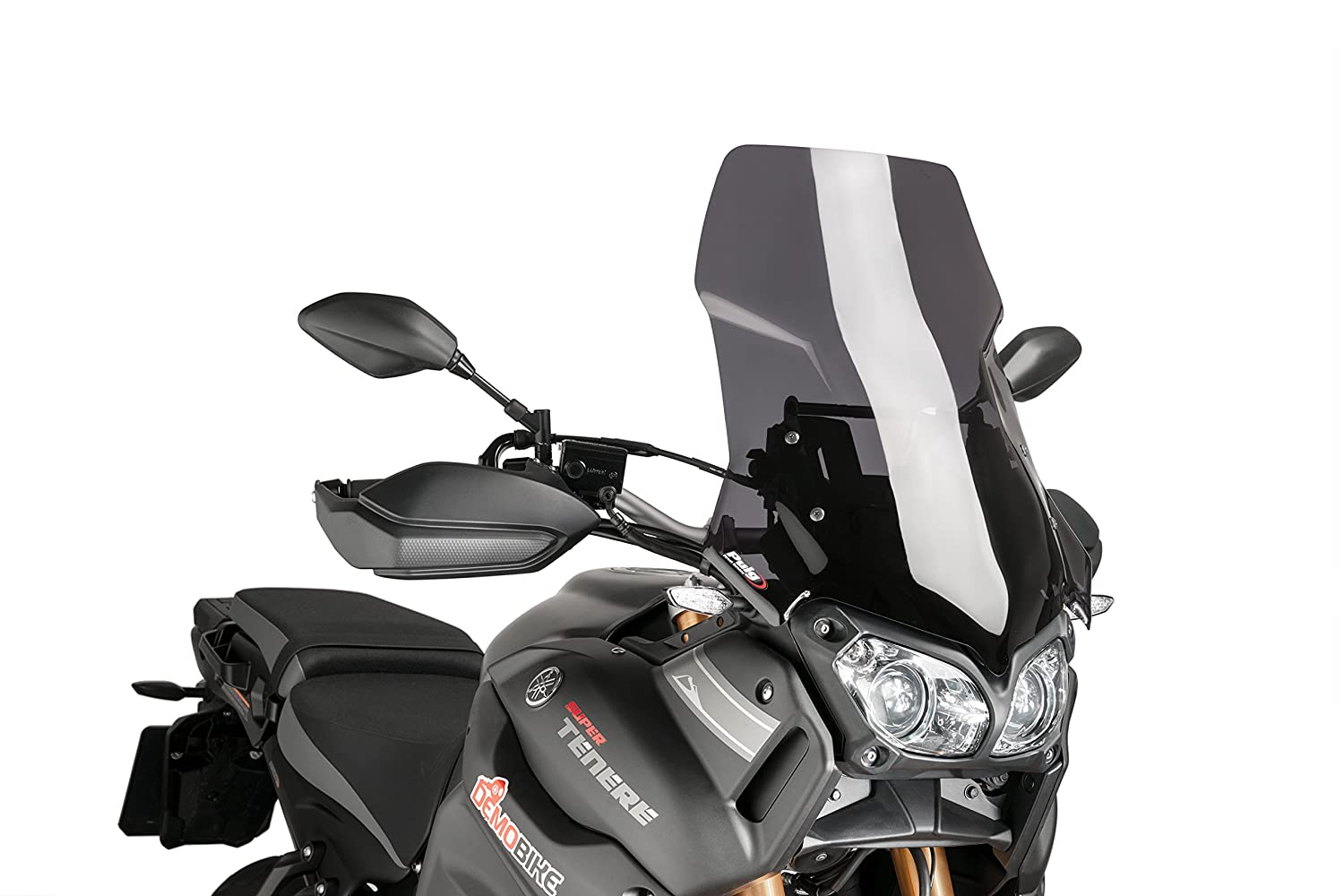 Belly pan Puig Yamaha MT-09 2014-2015 , MT-09 TRACER 2015 matt black (Akrapovic) Puig Tec 7541F