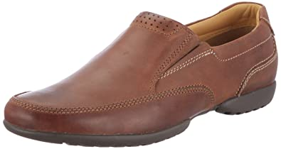 d7fb52f485 Clarks Mens Recline Free Brogue