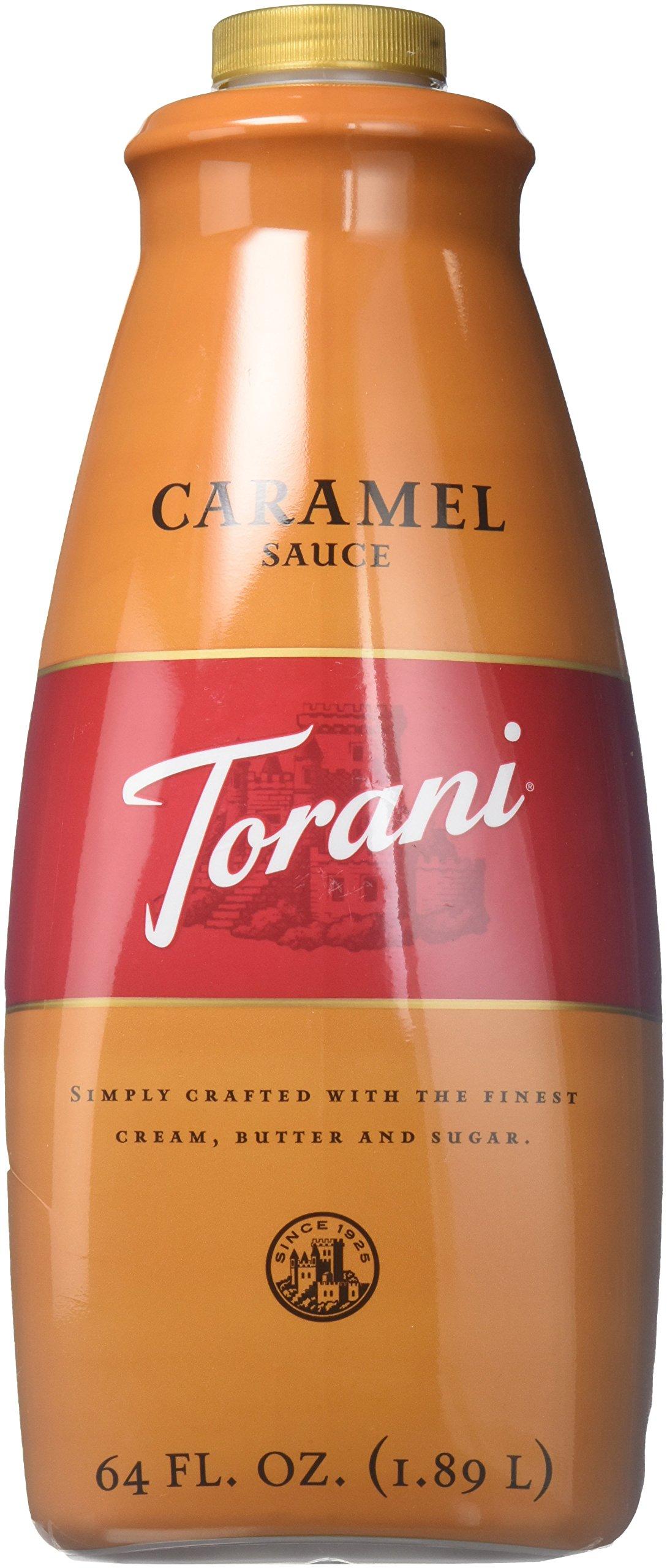Torani Caramel Sauce, 64 Ounce
