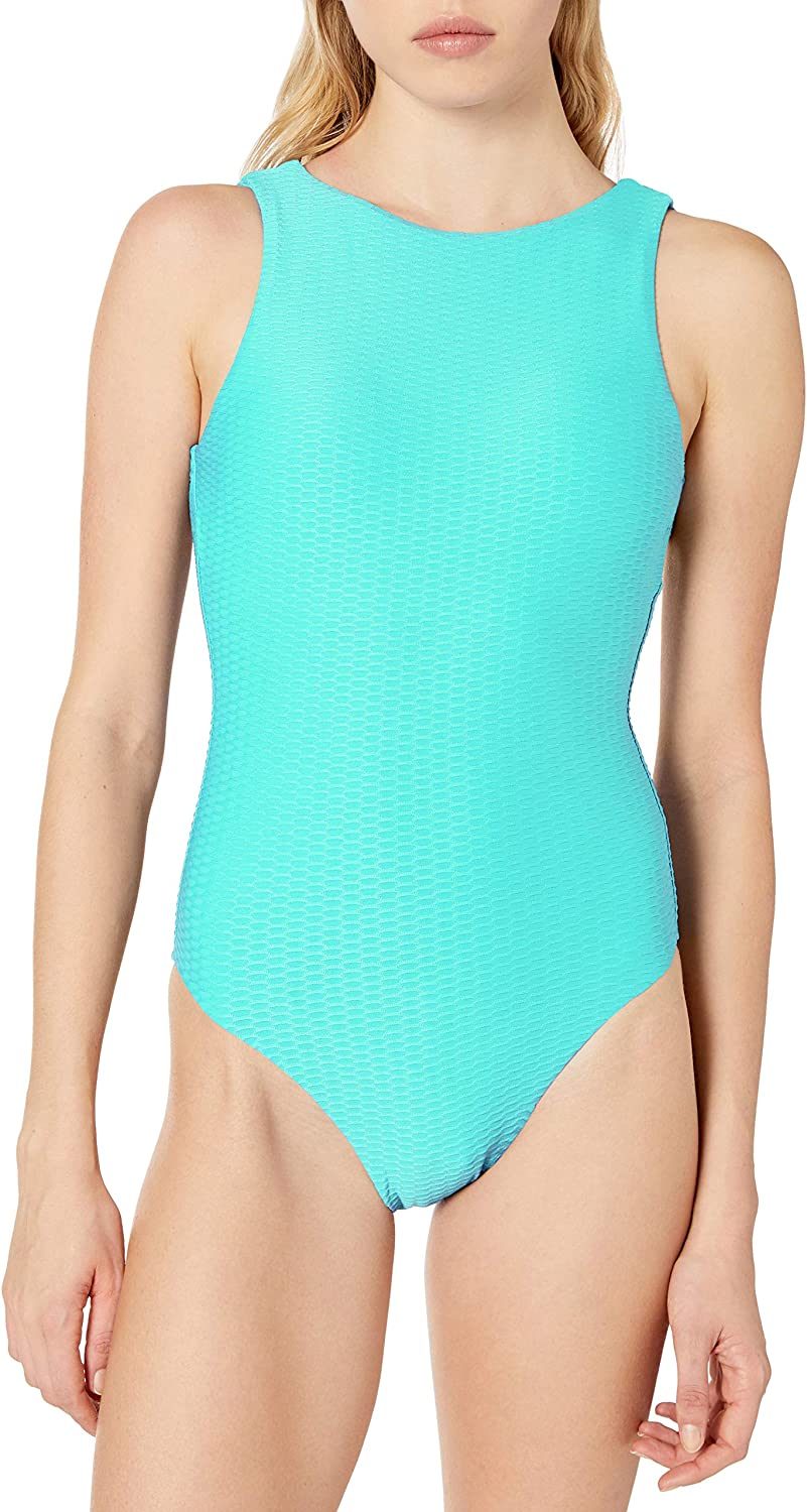 Seafolly Womens High Neck Maillot One Piece Swimsuit One Piece Swimsuit