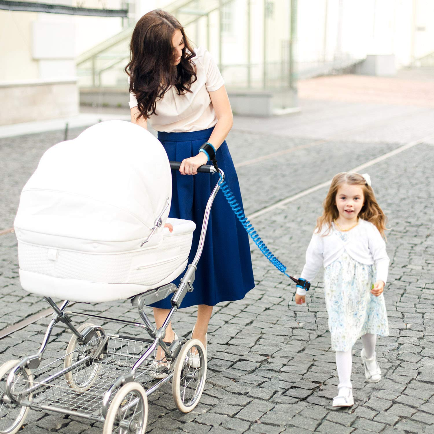 Anti Lost Rope Walking Harness for Kids Dr.Meter Upgrade Anti Lost Wristband with Lock Toddler Child Safety Wrist Leash