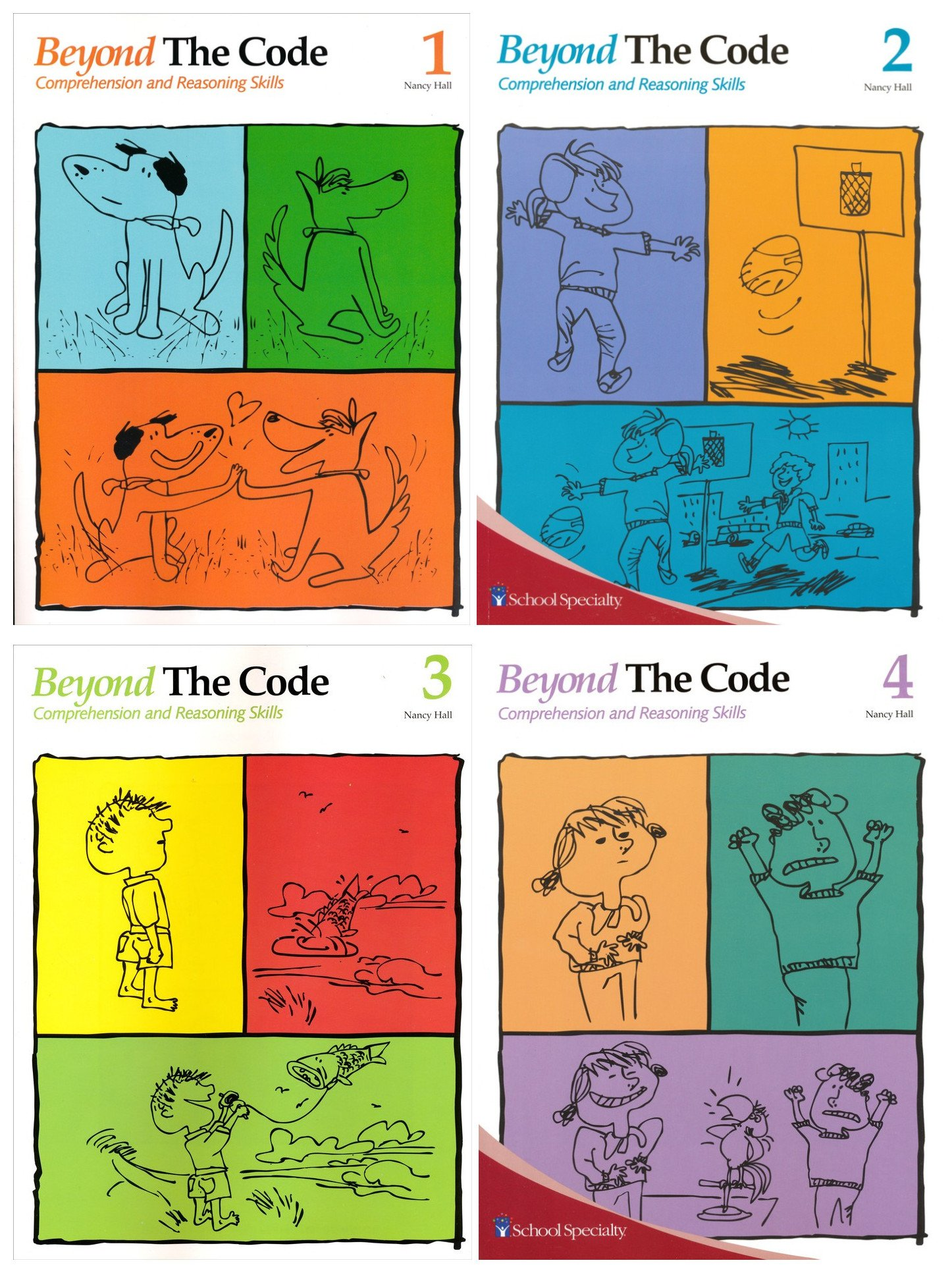 Read Online Beyond The Code Book 1-4 (4 Books Set) ebook
