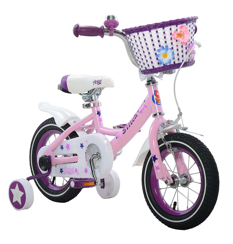 c2cc64303f3e4 Stitch Bunny and Angel Girl s Bike