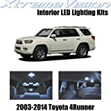 XtremeVision Toyota 4Runner 2003-2014 (12 Pieces) Cool White Premium Interior LED Kit Package + Installation Tool