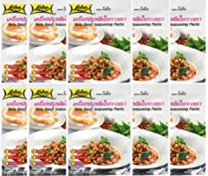 Lobo Thai Holy Basil Seasoning Paste 50g. (Pack of 10)