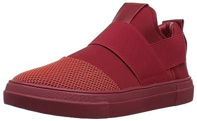 9b34a75eb30 Steve Madden Men s Remote Sneaker red 7 ...