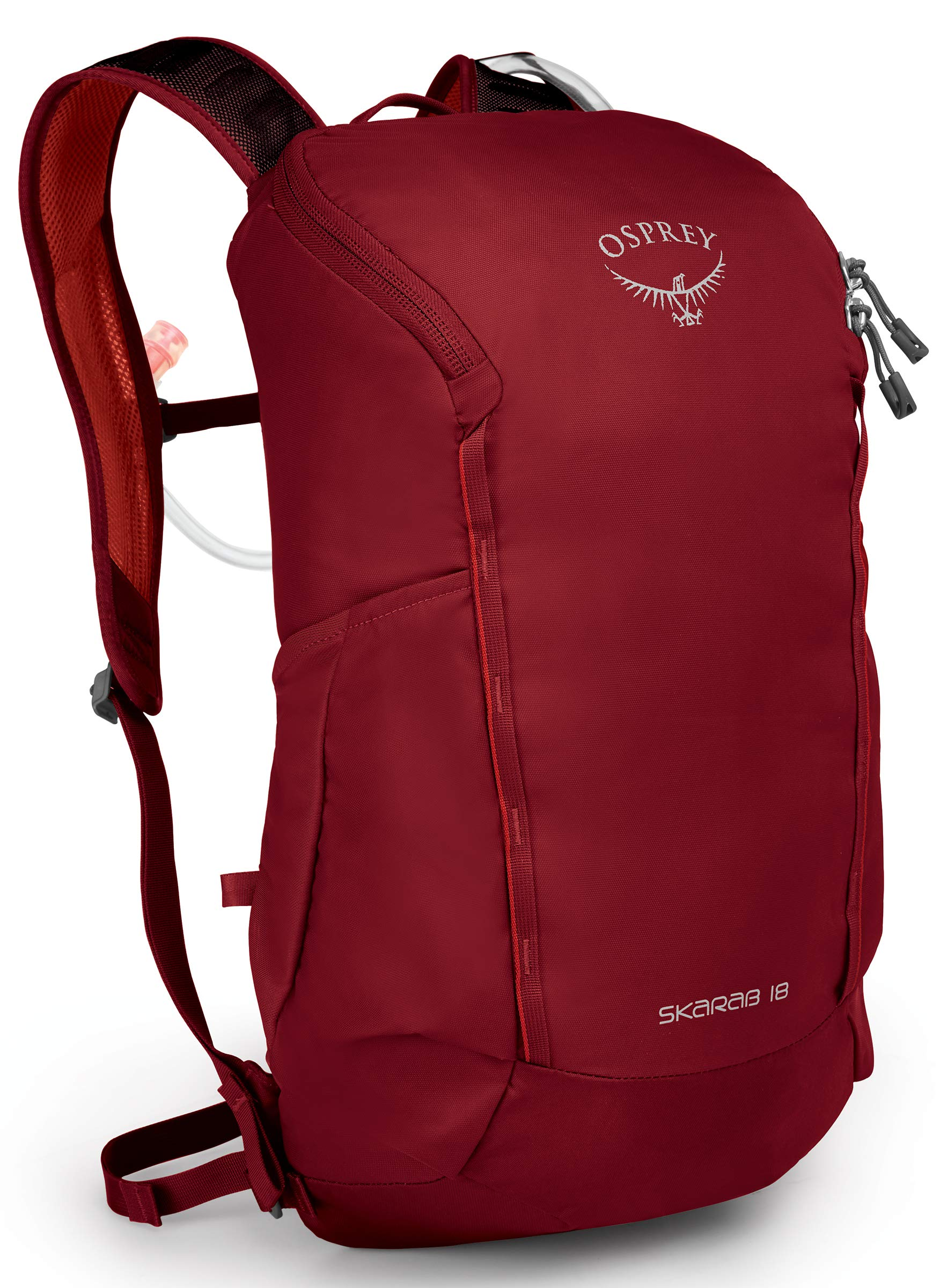 Osprey Packs Skarab 18 Hydration Pack, Mystic Red, One Size