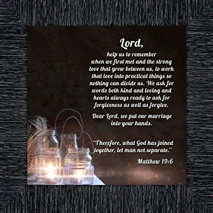 amazon com marriage prayer with scripture a matthew bible verse