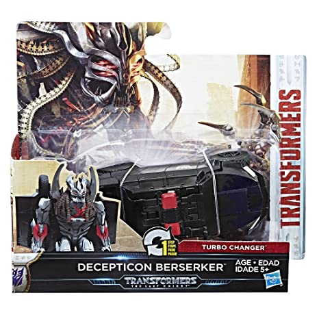 Transformers c1314es0 – Figura Turbo Changer Decepticon Berserker