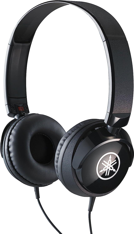 Yamaha HPH-50 - Auriculares supraaurales de diadema, cascos sencillos con un ajuste cómodo y un sonido dinámico de calidad, para teclados digitales Yamaha, color Negro