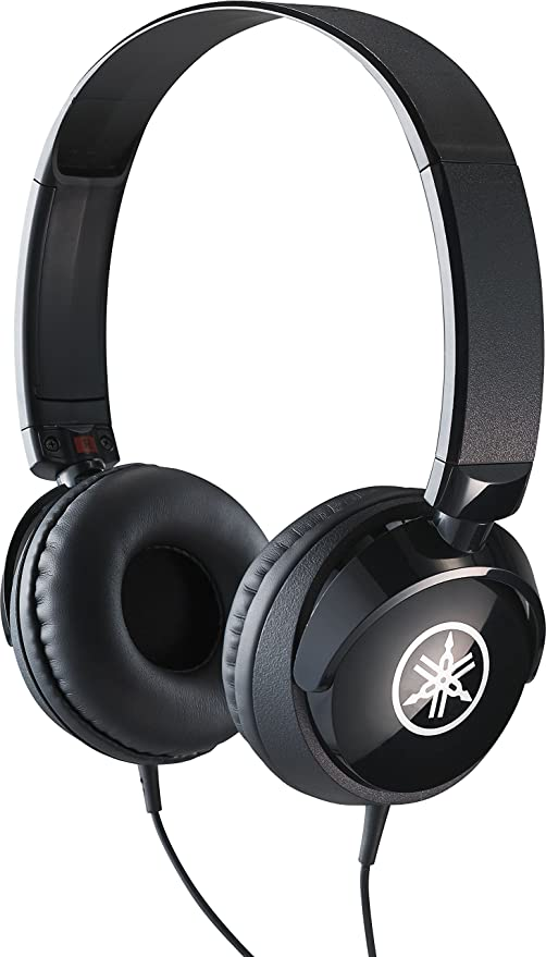 Yamaha HPH-50B Headphones, Black Simple On-Ear Headphones with High Quality Sound Compact Design Suitable for Yamaha Keyboards and Digital Pianos: Amazon.nl