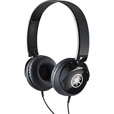 Yamaha HPH-50B Compact Closed-Back Headphones, Black
