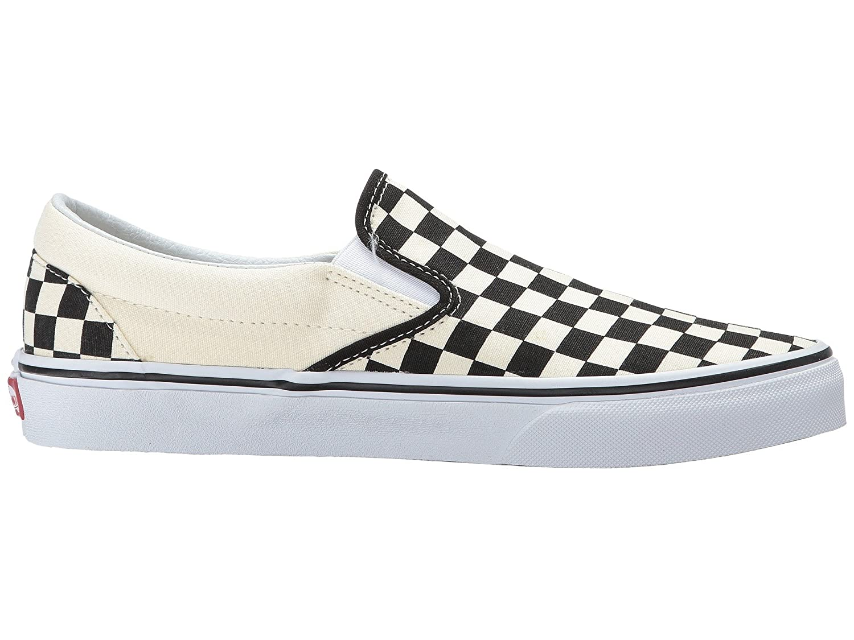 Vans Unisex Classic (Checkerboard) Slip-On Skate Shoe B07BRB3WK2 44 M EU / 12 B(M) US Women / 10.5 D(M) US Men|Black/White Checkerboard