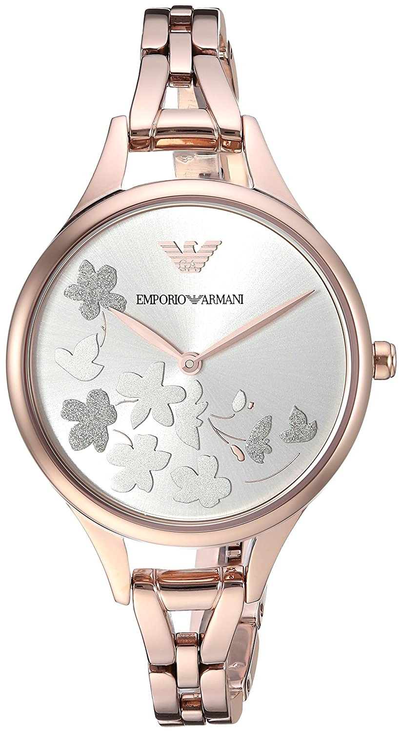ff31b20fb3d Amazon.com  Emporio Armani Women s  Dress  Quartz Stainless Steel Casual  Watch