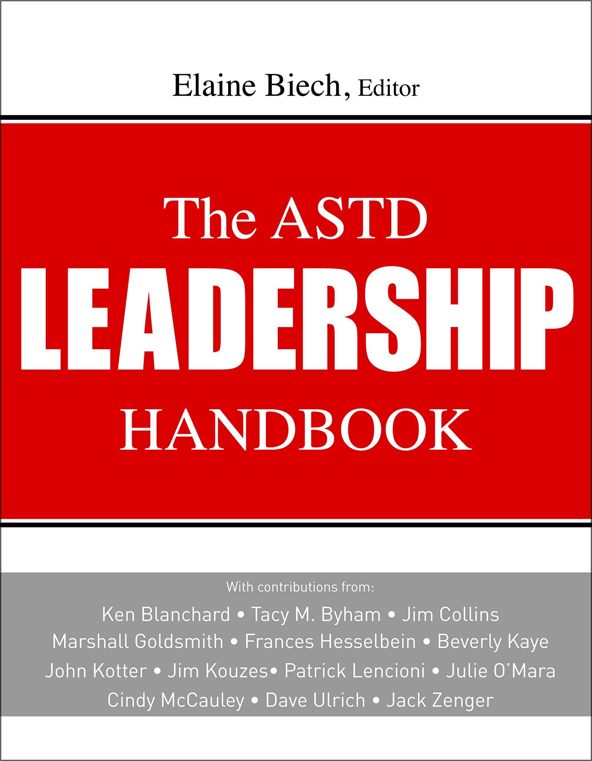 the astd leadership handbook elaine biech
