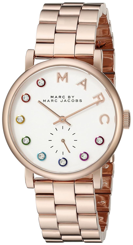 Amazon Com Marc By Marc Jacobs Women S Mbm3441 Baker Rose Gold Tone