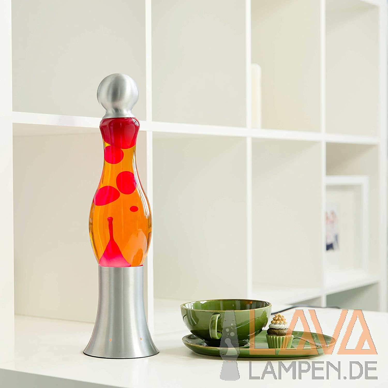 Modern retro red orange lava motion floor or table lamp michi indoor li amazon co uk lighting
