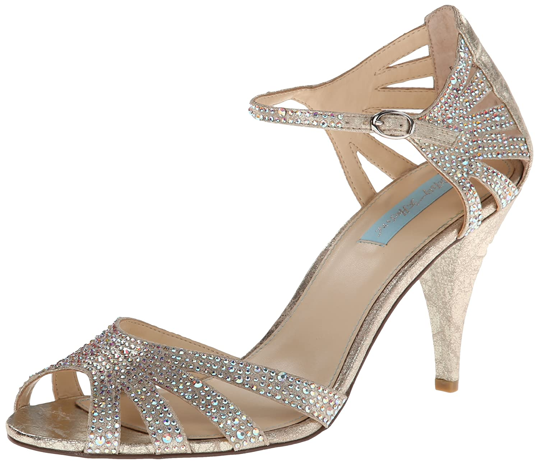 Wedding Betsey Johnson Heels amazon com blue by betsey johnson womens sb sweet dress pump pumps
