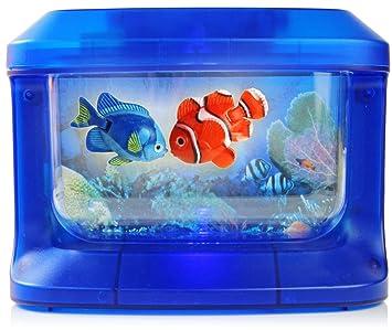 Kinder Aquarium mit LED Lampen und Fischen