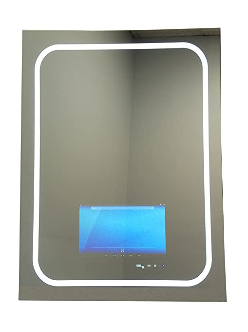 Amazon com: GlassTek Inc  Touch Screen Mirror with Smart TV