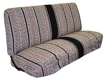 saddle blanket truck bench seat cover fits chevrolet dodge ford trucks black
