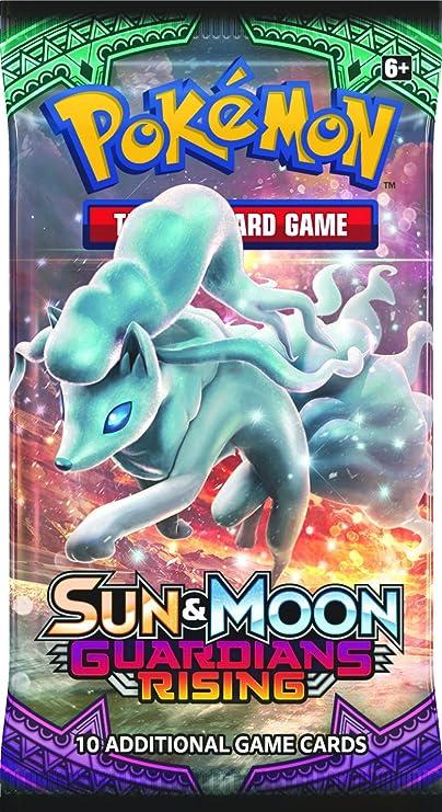 Pokemon pok81214 TCG sol y luna tutores Rising Booster Display - 1 paquete individual: Amazon.es: Juguetes y juegos