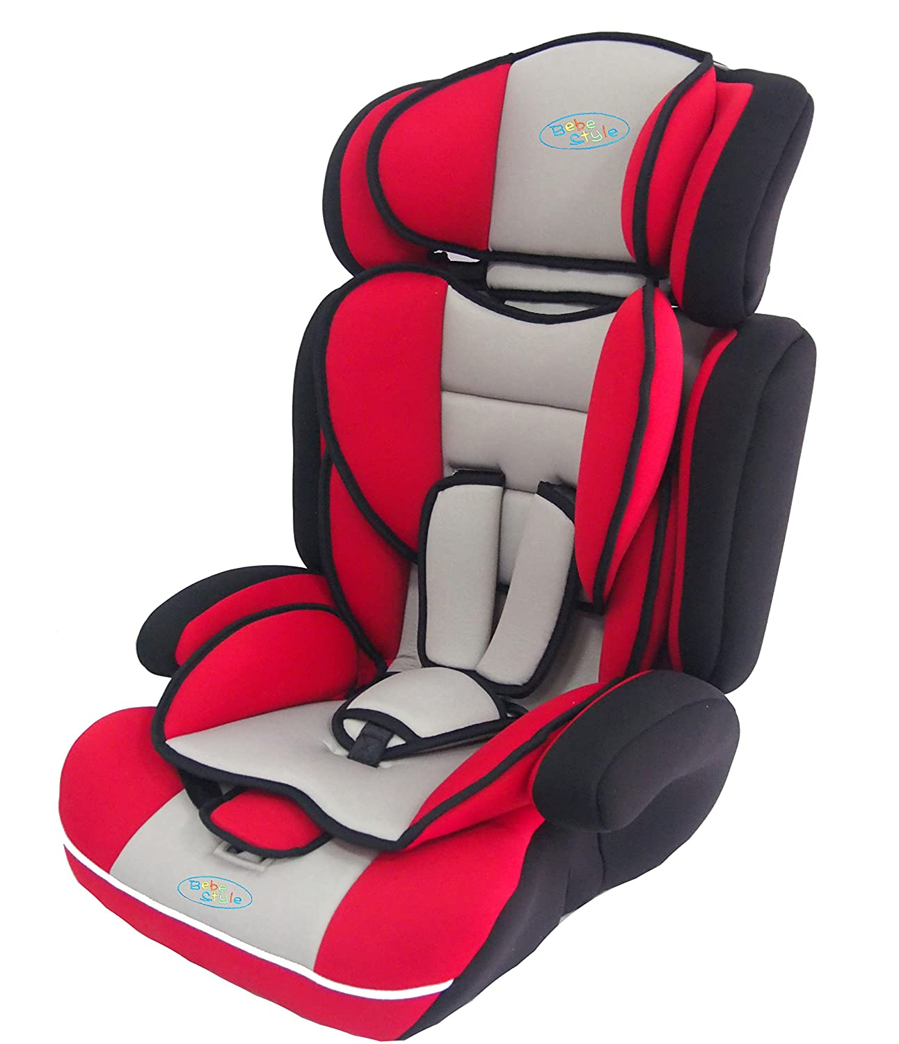Bebe Style Convertible 1 2 3 Combination Car Seat Red Amazon Co