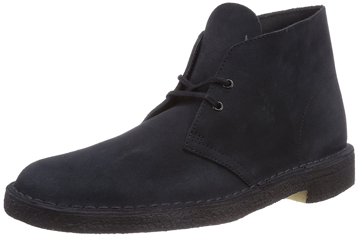 Clarks Originals Desert Boot, Damen Derby Schnürhalbschuhe, Blau (Navy Suede), 38 EU (5 Damen UK)