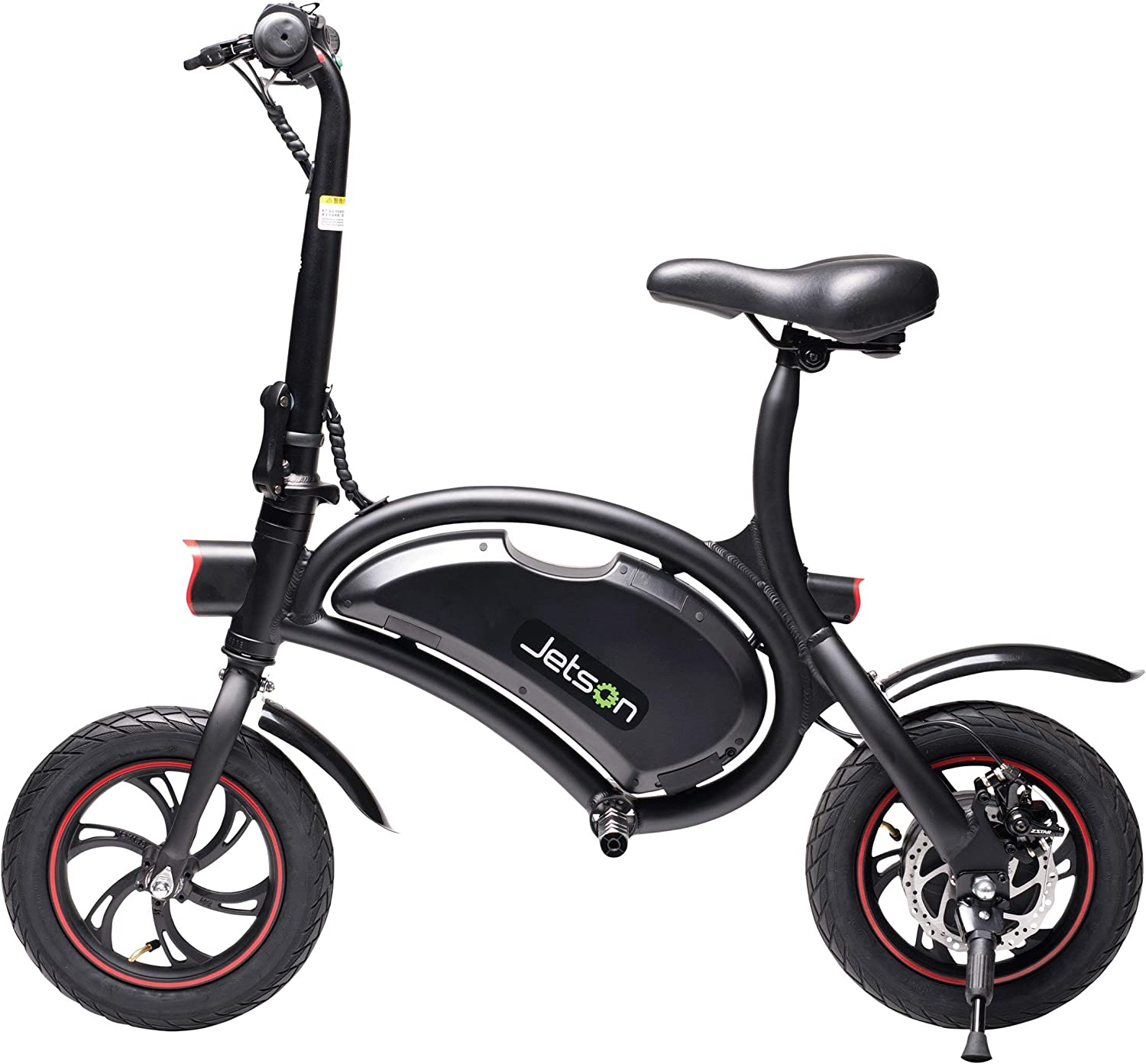 Jetson Electric Bike Bolt Folding Electric Bike with LCD Display, Lightweight Portable with Carrying Handle, for Adults Teens