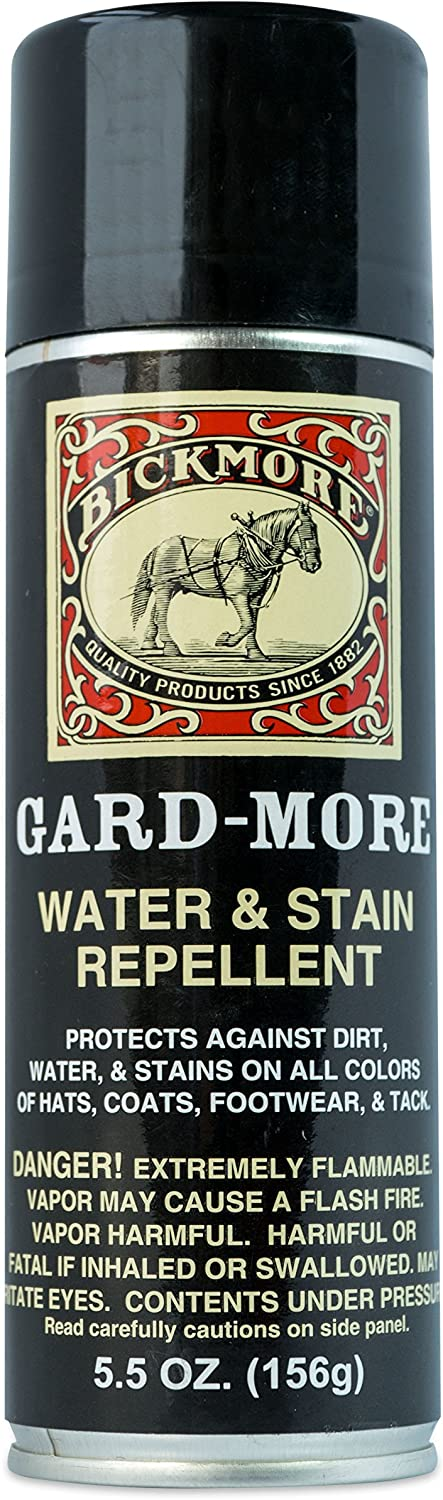 Bickmore Gard-More Water & Stain Repellent 5.5oz- Leather Protector and Suede Protector Waterproofing Spray Guard