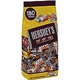 HERSHEY'S Miniatures Assortment (HERSHEY'S Milk Chocolate Bars / KRACKEL Milk Chocolate Bars / HERSHEY'S Special Dark Mildly Sweet Chocolate Bars / MR. GOODBAR Milk Chocolate Bars), 56 Ounce Bulk Bag