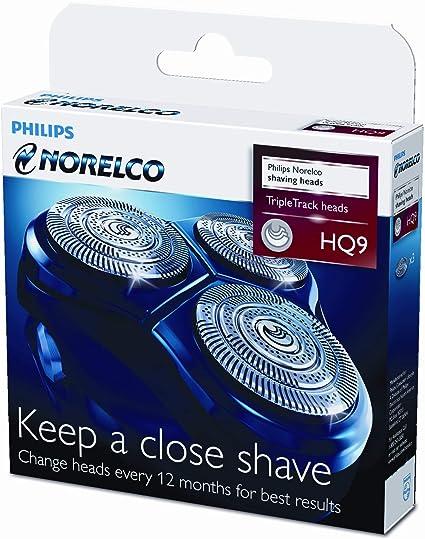 Philips cabezales de afeitado HQ9/50 - Accesorio para máquina de ...