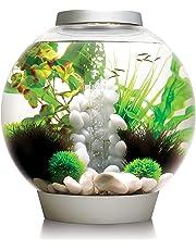 biOrb Classic 30 45668 Aquarium with LED Light – 8 Gallon, Silver