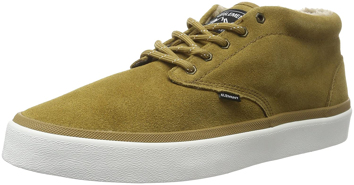 Element Herren Preston Sneakers Low-Top  42.5 EU|Braun (58 Curry)