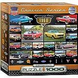 Eurographics Cruisin Classics Cars 1960's Puzzle (1000-Piece)