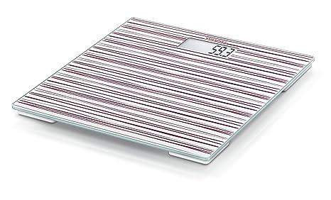 Soehnle 63840 - Bascula de baño Pino, capacidad de carga 180 kg, color ruby