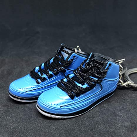 0a4299d48c1 Image Unavailable. Image not available for. Color: Pair Air Jordan II 2  Retro University Blue UNC Candy ...