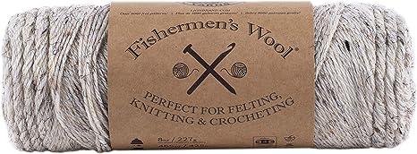 Birch Tweed Lion Brand Yarn 150-202 Fishermens Wool Yarn